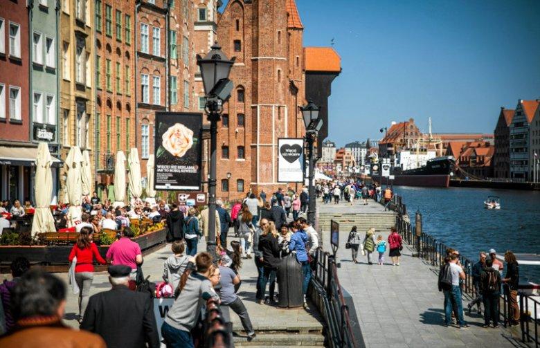 Turyści w Gdańsku