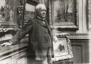 Zdjęcie z ok. 1910 roku - Paul Durand  - Ruel, największy mecenas Impresjonistów. Zdjęcie z katalogu wystawy z National Gallery 2015.