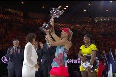 Angelique Kerber wygrała Australian Open. W finale pokonała utytułowaną Serenę Williams.