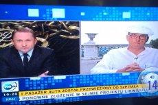 Jan Rokita w trakcie rozmowy z Kamilem Durczokiem