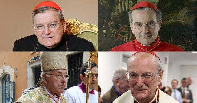Kardynałowie Burke, Caffarra, Brandmüller, i Meisner - autorzy dubiów - starają się o audiencję u papieża
