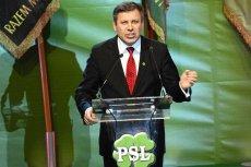 Nowy szef PSL Janusz Piechociński