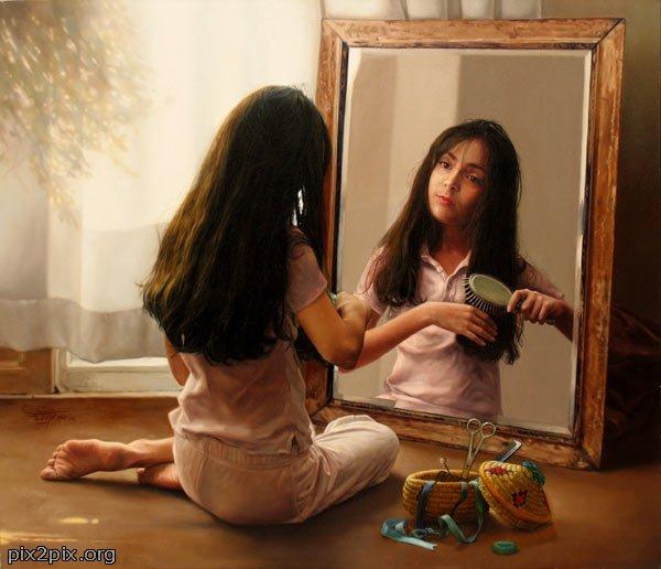 Czy w swoim lustrze widzisz na pewno siebie?