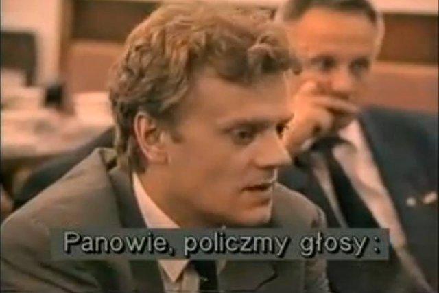 """Kadr z filmu """"Nocna zmiana""""."""