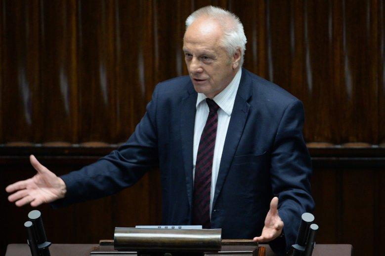 Wygląda na to, że Stefan Niesiołowski także ucierpiał z powodu krewkich wyborców.