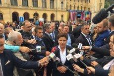 Beata Szydło nie widzi problemu z antyniemieckich wypowiedziach i graniu sprawą reparacji wojennych.