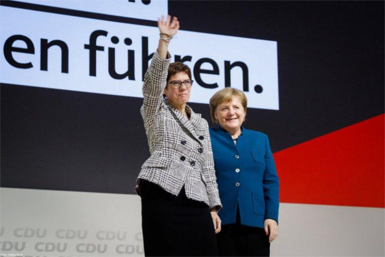 Nową szefową CDU została Annegret Kramp-Karrenbauer.