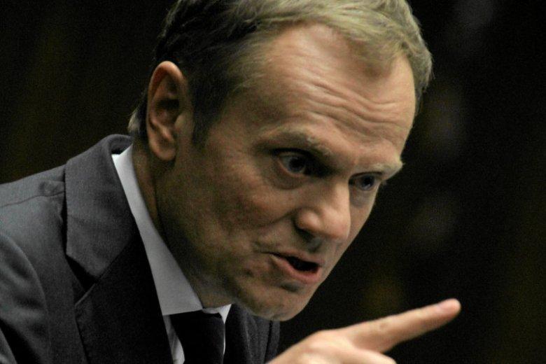 Donald Tusk o aferze podsłuchowej.