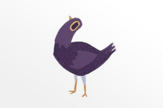 O co chodzi z tym fioletowym gruchaczem z internetu? Skąd wziął się Trash Dove?
