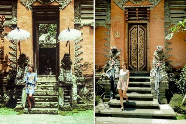 Mimo istotnych zmian, które w ciągu wielu lat zaszły na Bali, kadry z przeszłości i teraźniejsze są niemal identyczne
