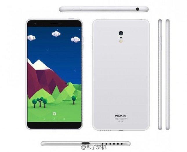 Tak ma wyglądać nowy smartfon fińskiego producenta. Nokia C1