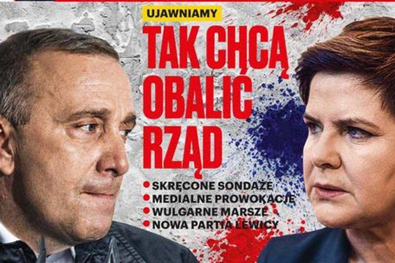 """Okładkowy temat najnowszego wydania tygodnika """"wSieci"""" ostrzega przed opozycją"""