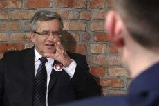 Bronisław Komorowski w AMA z dziennikarzami Grupy naTemat.