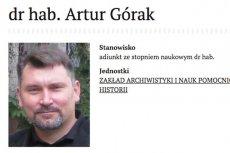 """Dr hab. Artur Górak nazwał protestujących """"bydłem"""". Pisze, że gdyby decyzja należała do niego, to kazałby do nich strzelać."""