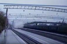 Runął most nad koleją transsyberyjską w mieście Swobodny.