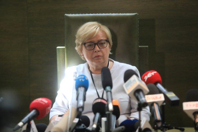 Małgorzata Gersdorf ma poparcie ludzi prawa z całego świata.