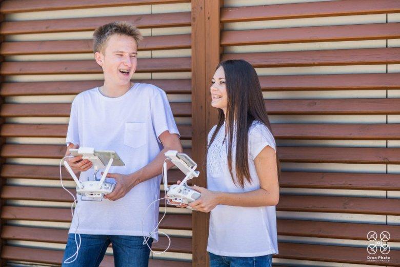 Asia i Staś podróżowali z dronem przez 4 miesiące.