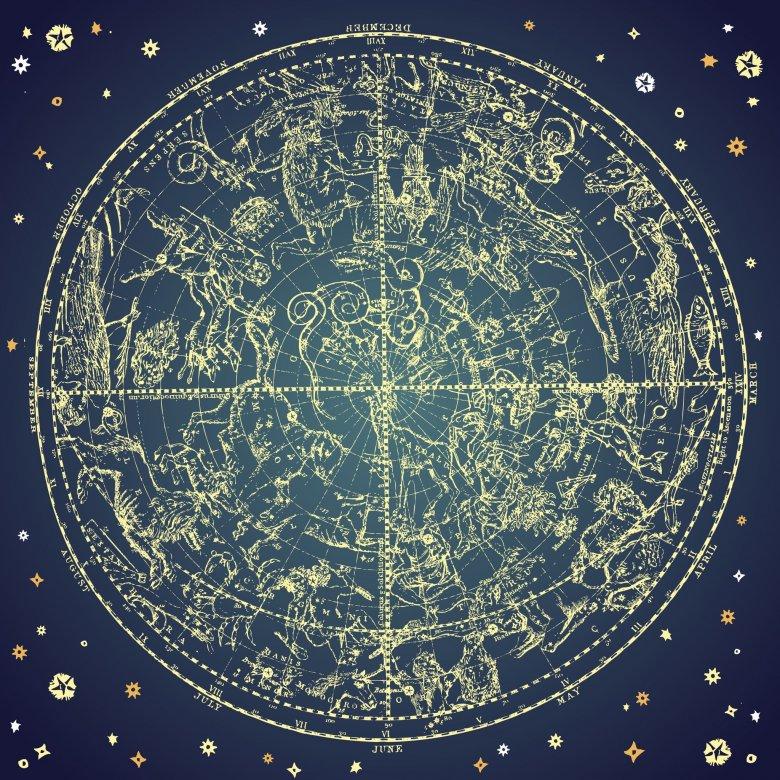 Konstelacja zodiaku.