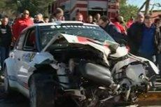 Robert Kubica doznał poważnego wypadku w lutym 2011 roku.