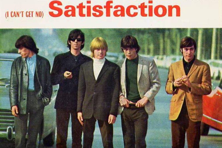 "Okładka ep-ki ""(I can't get no) satisfaction"" The Rolling Stones"