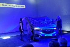 Prezentacja nowego modelu Opla Combo Life w Warszawie.