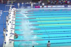 Hiszpański pływak wykonał piękny gest