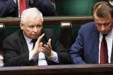 Prezes PiS Jarosław Kaczyński użył argumentu z katastrofy smoleńskiej w obronie Mariusza Błaszczaka i Jarosława Zielińskiego ws. śmierci torturowanego przez policję Igora Stachowiaka.