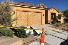 Dom Stephena Paddocka w Mesquite w stanie Nevada.