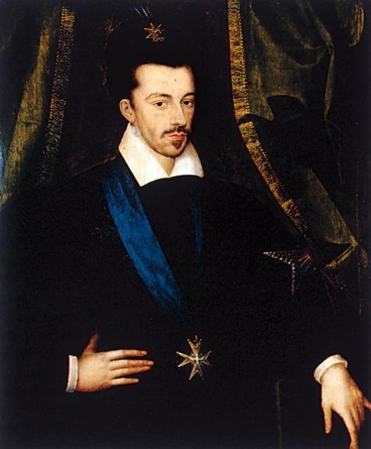 Henryk Walezy - kiedy był polskim królem, myślał o koronie francuskiej.
