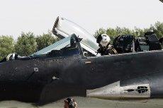 Dziś podczas podejścia do lądowania rozbił się jeden z polskich myśliwców Mig-29.