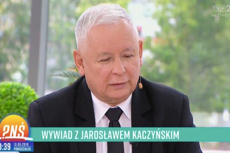"""Prezes Jarosław Kaczyński wystąpił w """"Pytaniu na śniadanie"""", gdzie opowiedział o swoich prywatnych pasjach."""