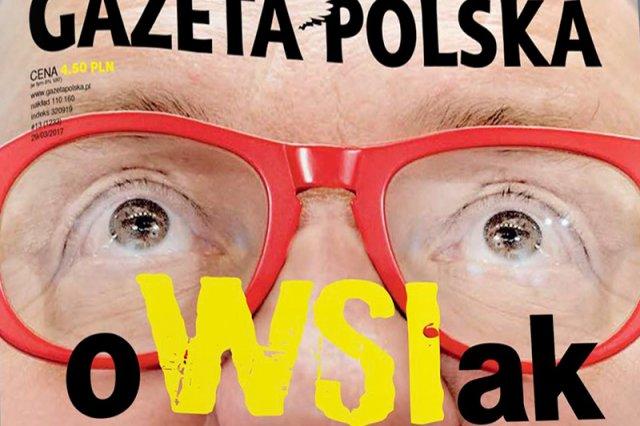 """""""Gazeta Polska"""" uderza w szefa WOŚP Jurka Owsiaka. Na okłądce sugerują, iż ma on powiązania z WSI."""