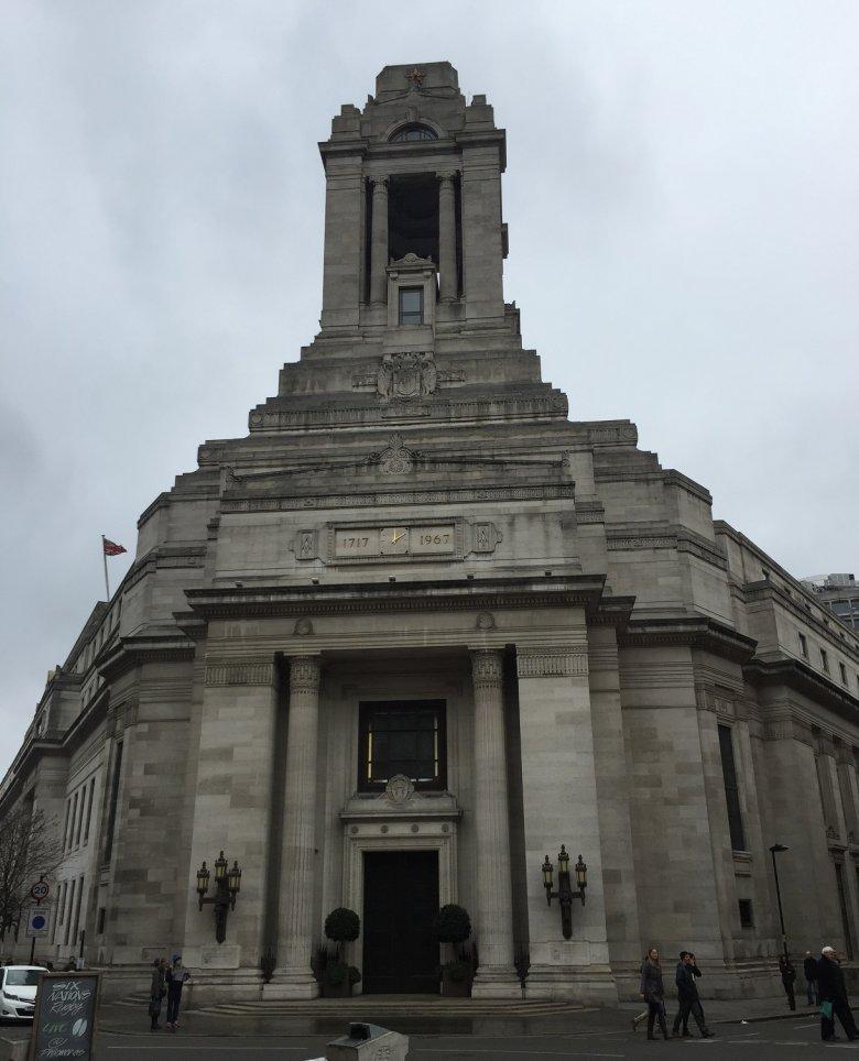 Budynek Freemasons' Hall.