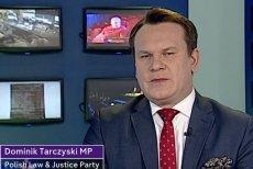 Dominik Tarczyński ostro wypowiadał się na antenie stacji Channel 4 ws. przyjmowania uchodźców.