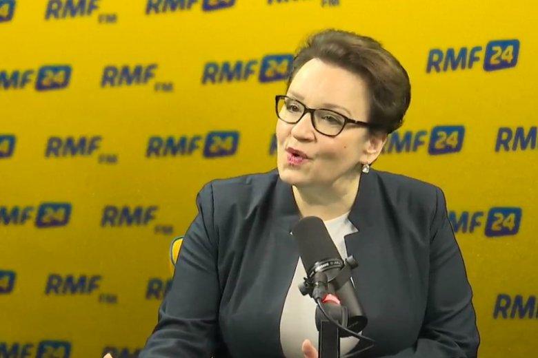 Anna Zalewska zaprasza Anję Rubik do MEN na rozmowy o #SexEdPL.