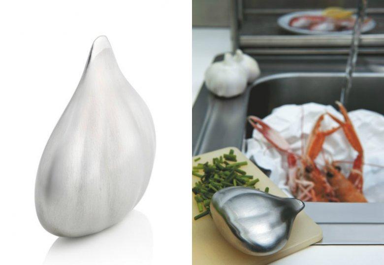 Mydło stalowe Savon du Chef włoskiej marki Alessi.