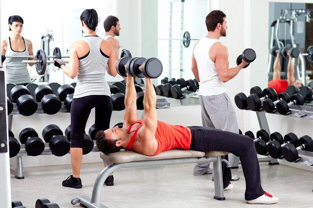 Znalezione obrazy dla zapytania siłownia