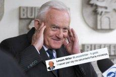 Leszek Miller w bezbłędny sposób odpowiedział wiceministrowi Szymańskiemu.