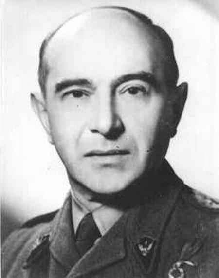 Płk Kazimierz Iranek-Osmecki, szef II Oddziału Komendy Głównej AK.