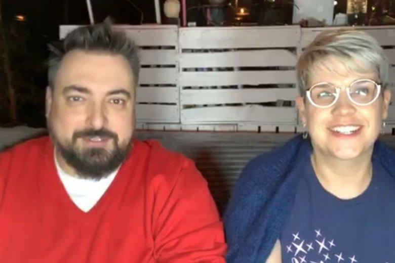 Tomasz i Anna Sekielscy stanową udany duet nie tylko w życiu, ale i przed kamerą.