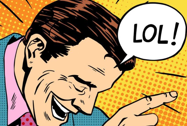 """W internecie najczęściej śmiejemy się klasycznie - """"haha""""."""
