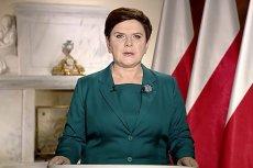 Beata Szydło wygłosiła orędzie na temat aktualnej sytuacji w parlamencie. Potwierdziła, że zmian nie będzie.