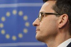Premier Mateusz Morawiecki mial w PE ciężką przeprawę