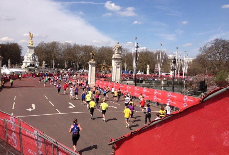 Maraton w Londynie - zaraz meta