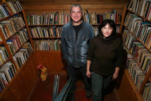 Andrzej Stasiuk i Monika Sznajderman