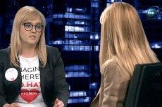 """Monika Olejnik zapytała w """"Kropce nad i"""" Magdalenę Adamowicz o przyjaźń Pawła Adamowicza z abpem Głódziem i rozdzielność majątkową."""