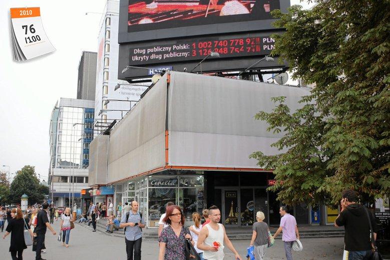 Licznik długu publicznego został uruchomiony 28 września 2010 przez Leszka Balcerowicza w ramach akcji pod szyldem fundacji Forum Odpowiedzialnego Rozwoju
