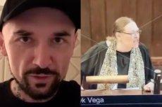 Patryk Vega pokazał, jak w jego nowym filmie wygląda Krystyna Pawłowicz.