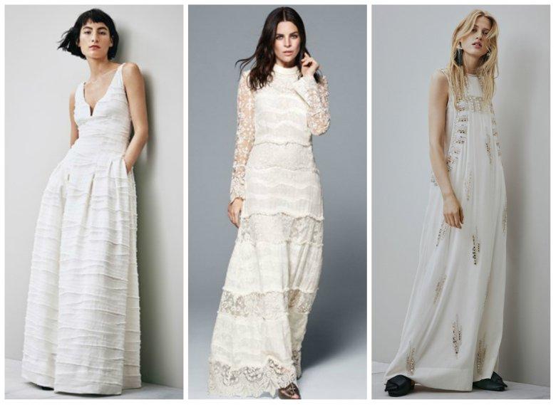 Suknie ślubne H&M Conscious
