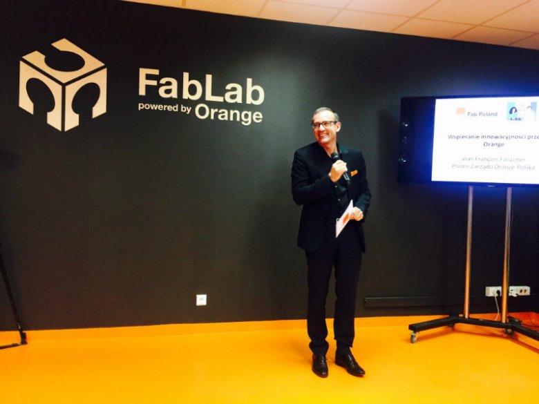 Jean-François Fallacher - prezes zarządu Orange Polska